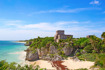 Canvas Prints Mexico Tulum