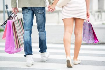 Legs In Shopping