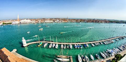View of Venice from Basilica Santa Maria della Salute