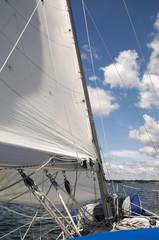 Sailing on Lake Erie