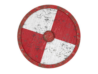 Old round shield