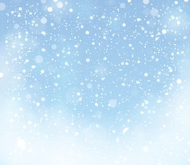 Snow theme background 9