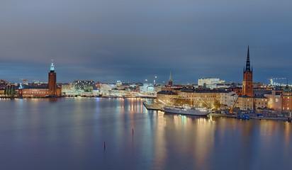 Gamla Stan Stockholm beleuchtet