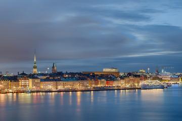 Stockholm beleuchtet