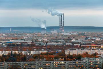 Naberezhnye Chelny, Russia - October 7, 2014: City Skyline with