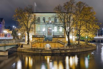 Strömsborg Burg Stockholm Nacht