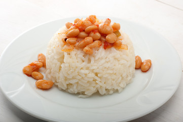 Bean and Pilaf
