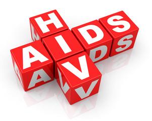 Obraz HIV and AIDS - fototapety do salonu