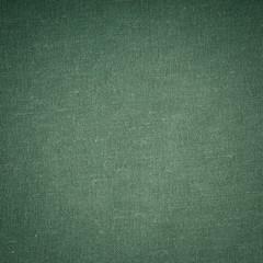 Closeup of green fabric textile material as texture