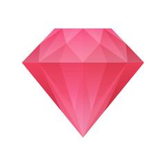 red diamond vector illustartion