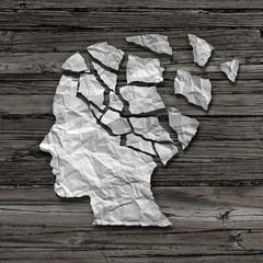 Wall Mural - Alzheimer Patient