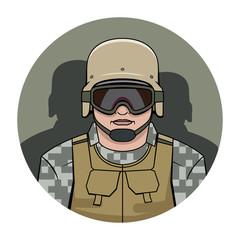 swat. policeman