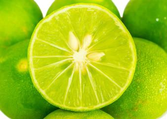 Green lime lemon