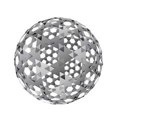 白黒な球体