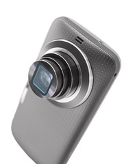 Mobile camera phone
