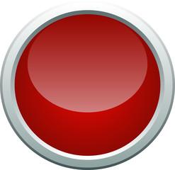 Error icon button on white background