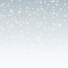 blue grey christmas snowflakes