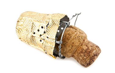 cork out of the wine