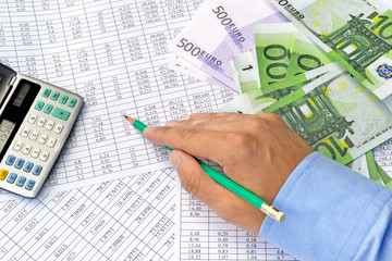 Calculation money