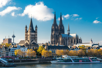 cologne late autumn