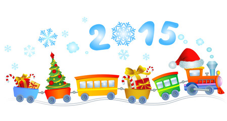New Year's train