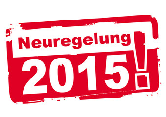 Neuregelungen 2015