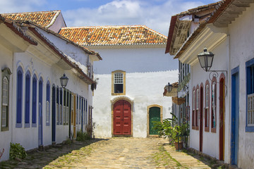 Paraty Buildings Colonial Brazil