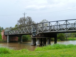 The Sale Swing Bridge located on the South Gippsland Highway