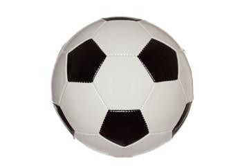 schwarz weißer Fußball