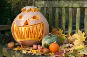 Halloween Kürbismonster