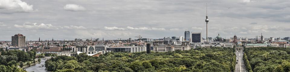 Printed roller blinds Berlin Berlin panorama