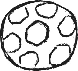 doodle soccer ball