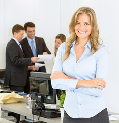 Female business manager