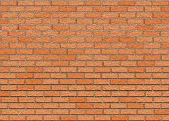 red hi-res brick wall pattern