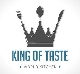 Logo - king of taste