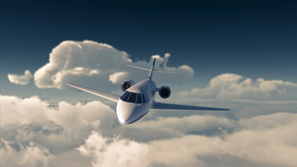 Private jet Wall mural
