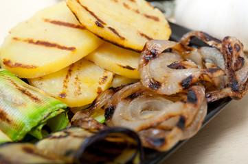 grilled assorted vegetables