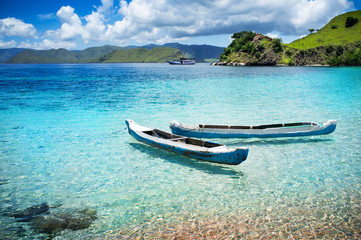 Foto op Aluminium Indonesië Komodo National Park - islands paradise for diving and exploring