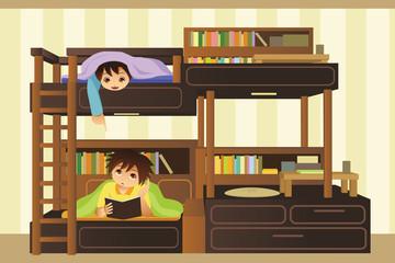 Kids in the bedroom