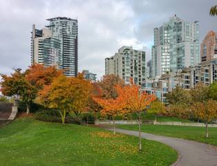 Autumn in Vancouver, BC, Canada