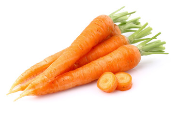Carrot with slice