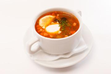 Soup solyanka