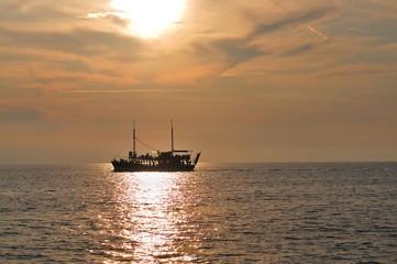 Bootsfahrt an der Adria