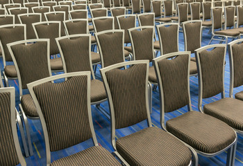 Row of the chairs
