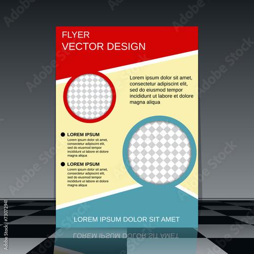 business flyer template fotolia com の ストック画像とロイヤリティ