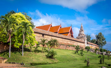 Pra That Lampang Luang, the famous ancient buddhist temple