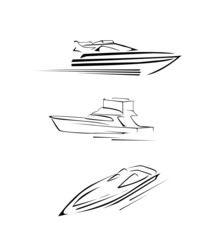 Speed Boat Set Collection