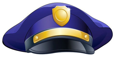 Policeman hat icon