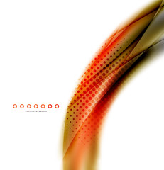 Unusual abstract background - blurred wave