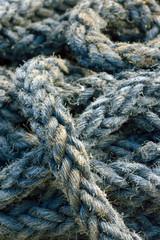 Rope detail, closeup